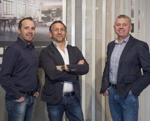 Cda di Edilklima Group Spa. Da sinistra: Garzotto Fabio, Battocchio Roberto, Dal Maistro Giuseppe.
