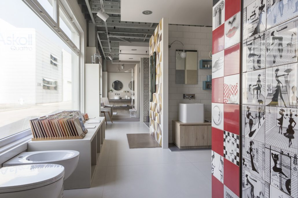 Show-room Pavimenti e rivestimenti - pareti