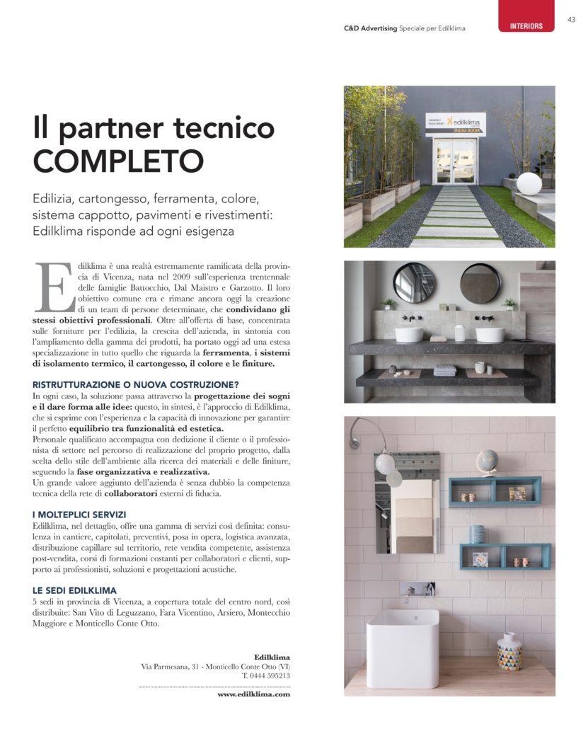 Case&Dimore magazine del 29 giugno 2017 - allegato a Il giornale di Vicenza.